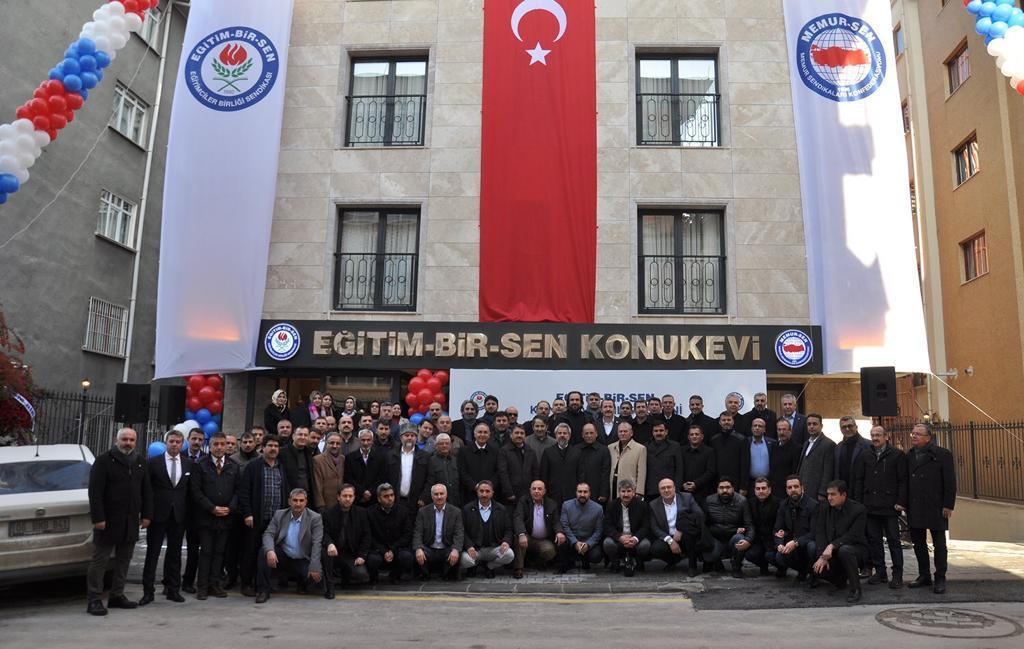 Şube Başkanımız Akça, Ankara'da Konukevinin açılışına katıldı.